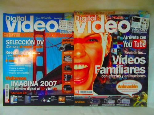 revistas digital video nros 15 y 16 videoclips peliculas