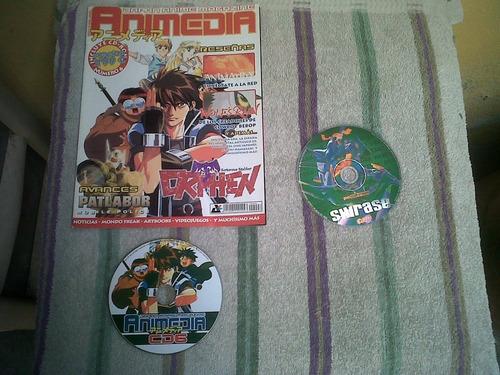 revistas dokan-minami-mas manga con cd o dvd para colección
