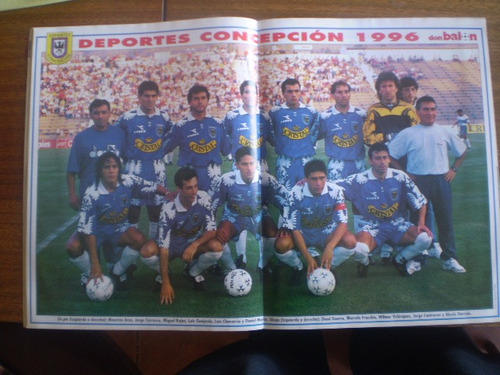 revistas don balon n°196 deportes concepcion 1996 (766