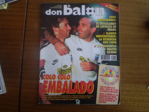 revistas don balon n°198 poster  cobreloa1996 (365w