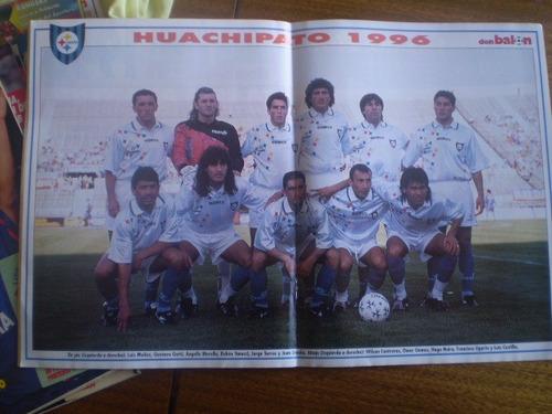 revistas don balon n°199 poster huachipato 1996 (528