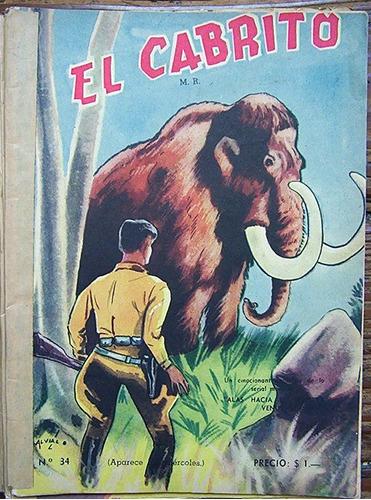 revistas el cabrito 1941 año 1 n°32 - 33 y 34 ilust. alveal
