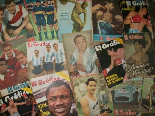 revistas el grafico antiguas de coleccion excelente estado!!