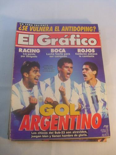 revistas el grafico argentina 1996 n 3982 a 3987(5)