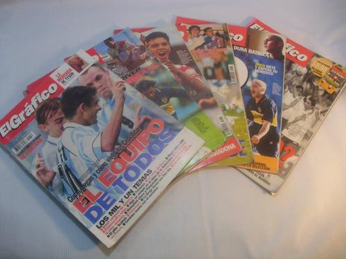 revistas el grafico argentina 1997/98 n 4056 a 4083(7)