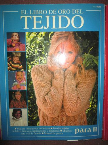 revistas el libro de oro del tejido
