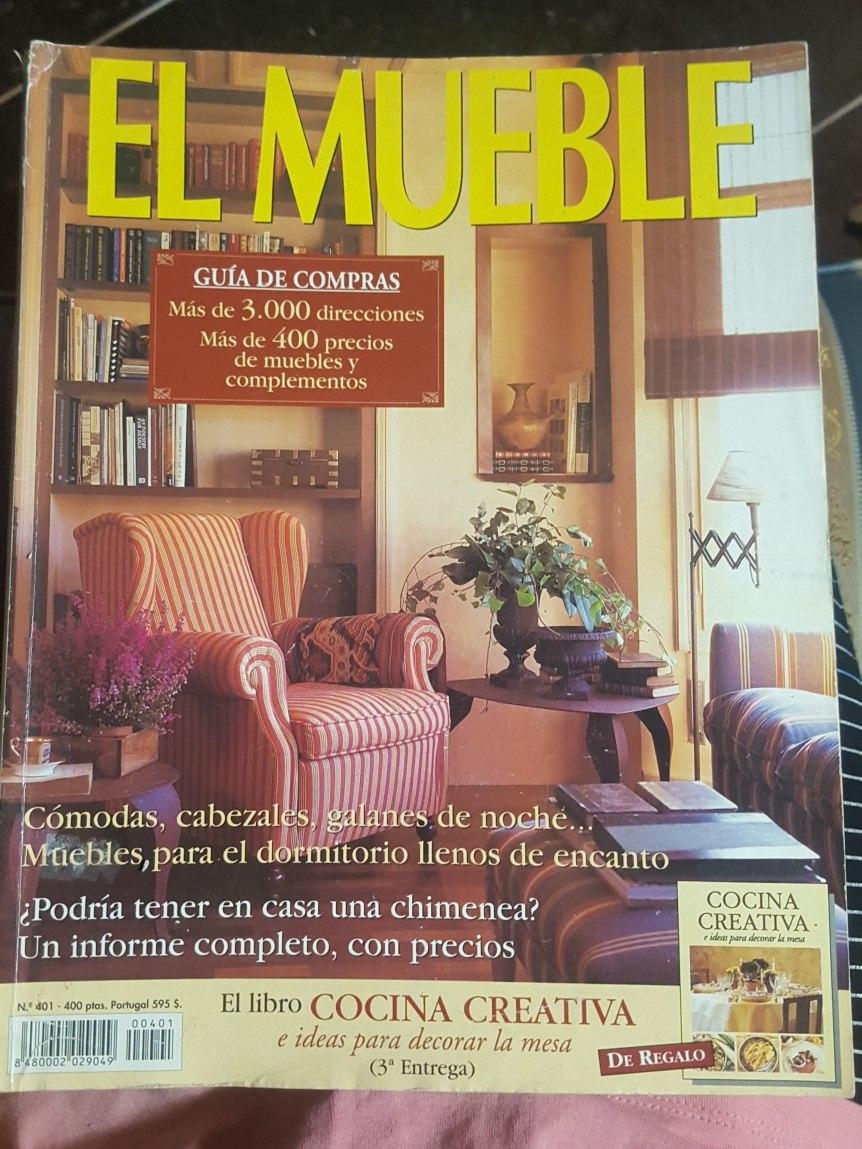 Revistas El Mueble.interiores.casa Viva.jardines.deco,mia - Bs. 600 ...