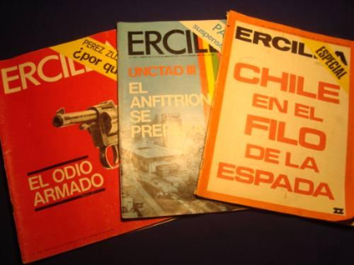 revistas ercilla, 1969, 1972 (3)