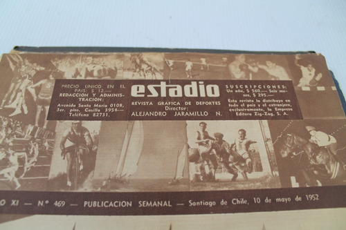 revistas estadio numeros 469 a 575 año 1952/54(4)
