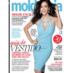 f0781178a6 Revista Molde   Cia 125   Mayte Piragibe C  50 Moldes Nova!