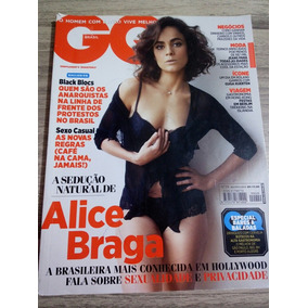 545bac124d Revista Gq Brasil 29 - Alice Braga Gugs Kuerten Ronaldo