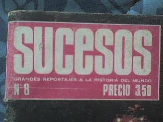 revistas flash y sucesos (años 60) coleccion imperdible!