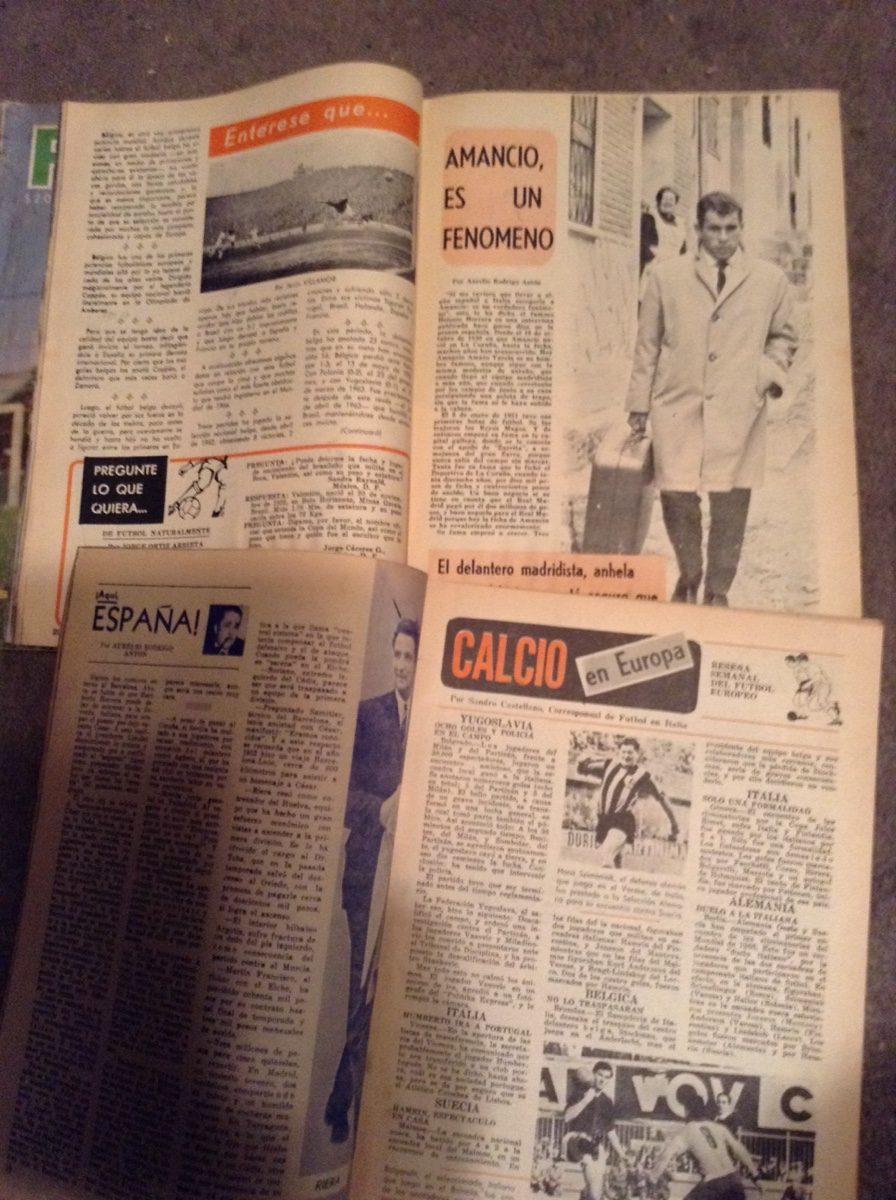 Revistas Futbol Años 60,s - $ 146.62 en Mercado Libre