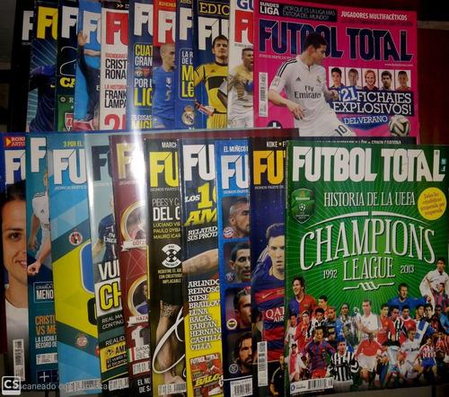revistas fútbol total 2012 - 2015