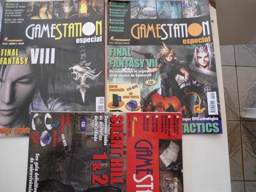 revistas gamestation  detonado de jogos