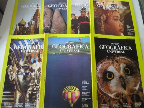 revistas - geografica universal