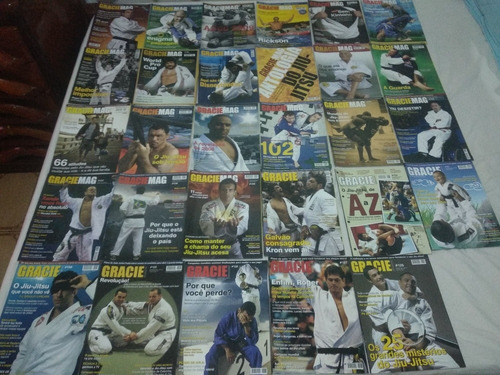 revistas gracie magazine