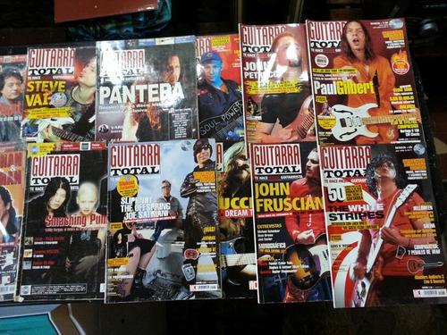 revistas guitarra total +cd