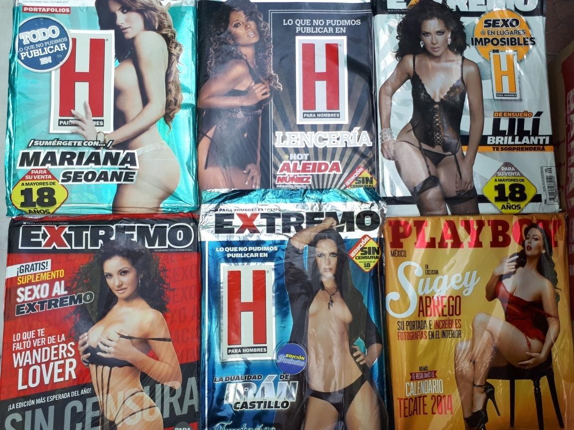 Ana Bekoa H Extremo revistas h en bolsa distintos años