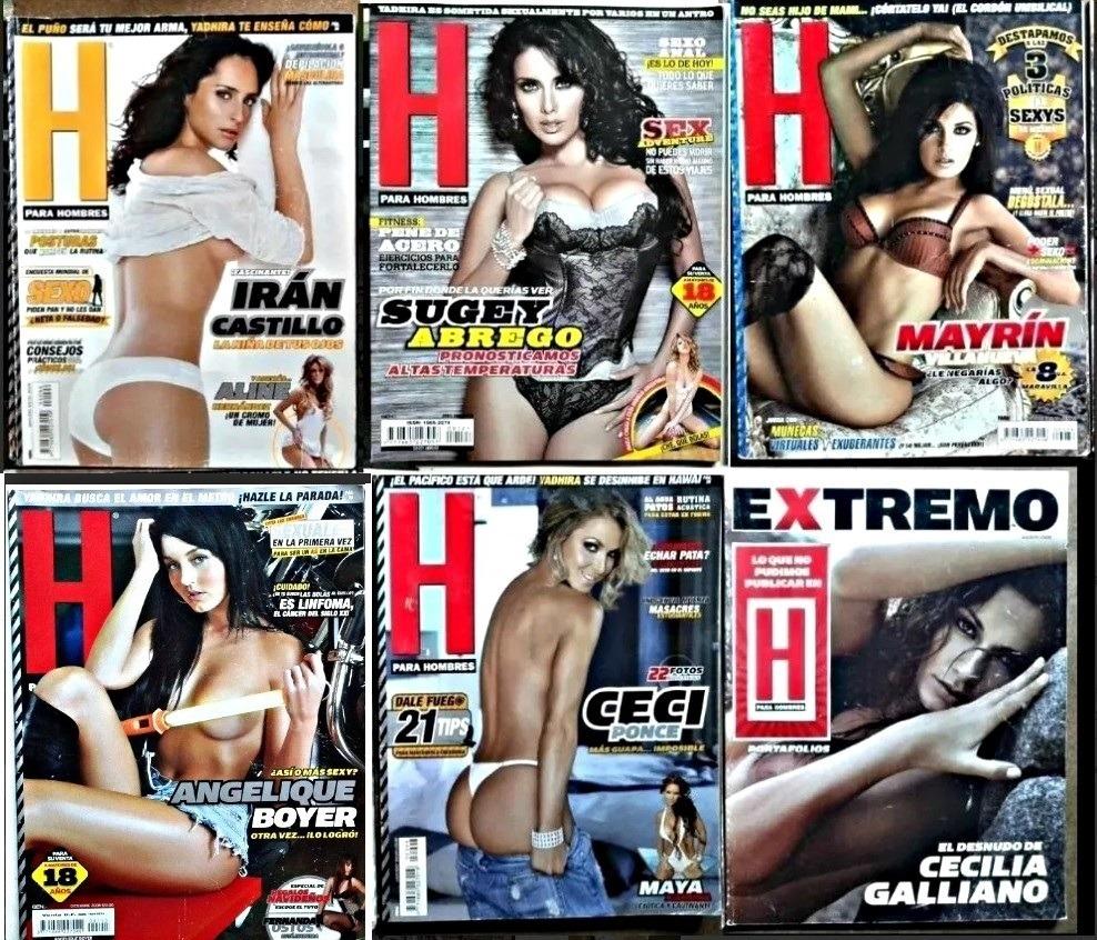 Ana Bekoa H Extremo revistas h y h extremo 31 a elegir. envíos solo de 5 o más. - $ 50.00