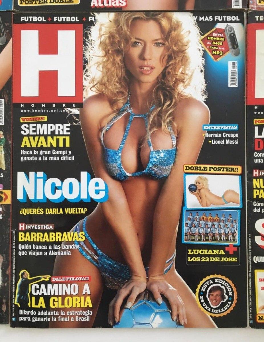 Anabel Cherubito Hot revistas hombre, set 25 uni. muy buen estado. todas promo !! - $ 699,90