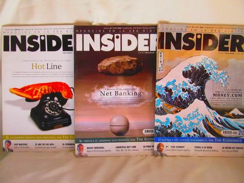 revistas insider negocios en la era digital tenemos 11 nros
