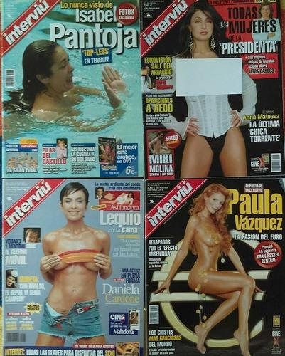 revistas interviu españolas