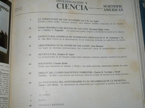 revistas investigación y ciencia