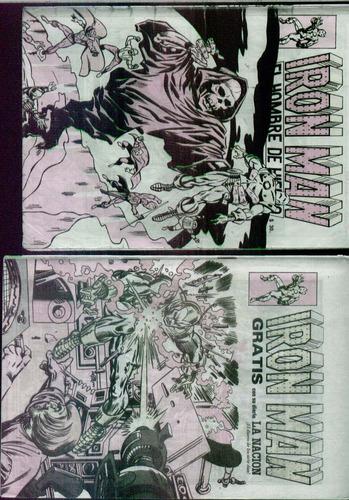 revistas iron man editorial gabriela mistral 11 y 13