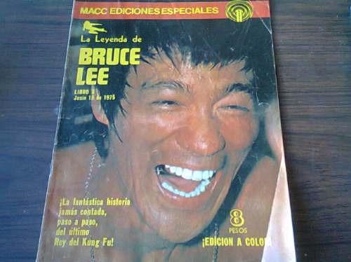 revistas la leyenda de bruce lee macc ediciones especiales