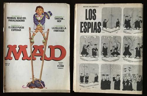 revistas mad argentina nº 14/17/21/24/25/27/33