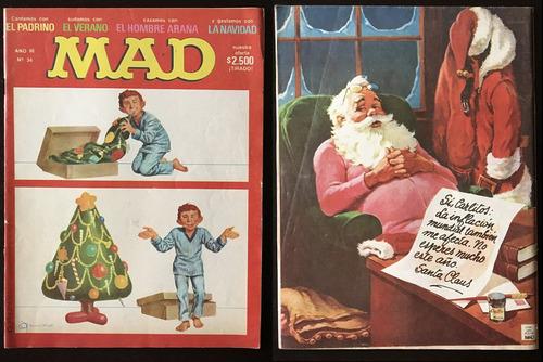 revistas mad argentina. nº 18/23/30/34/38/40 y más