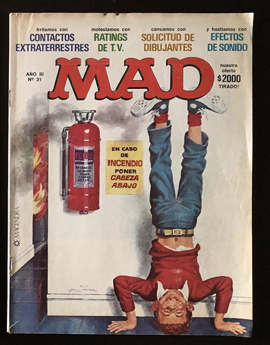 revistas mad argentina nº 20/28/31/41