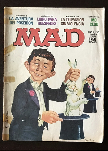revistas mad argentina nº 6/13/36