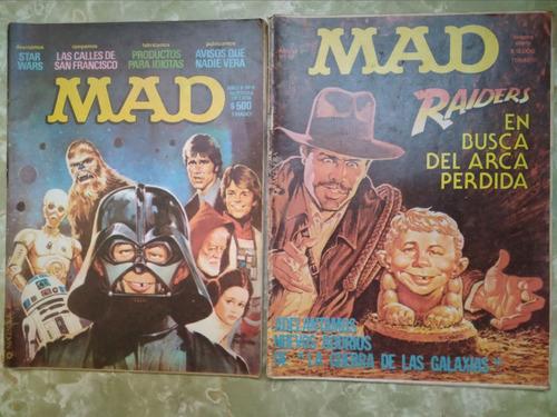 revistas mad marzo 78 star wars indiana jones