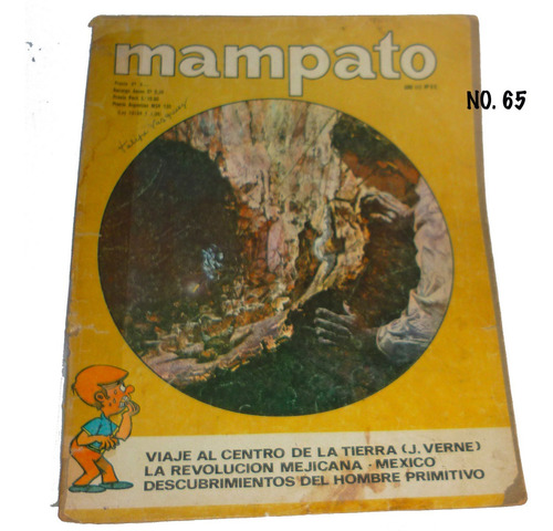 revistas mampato antiguas,números a elegir,valor c/una usada