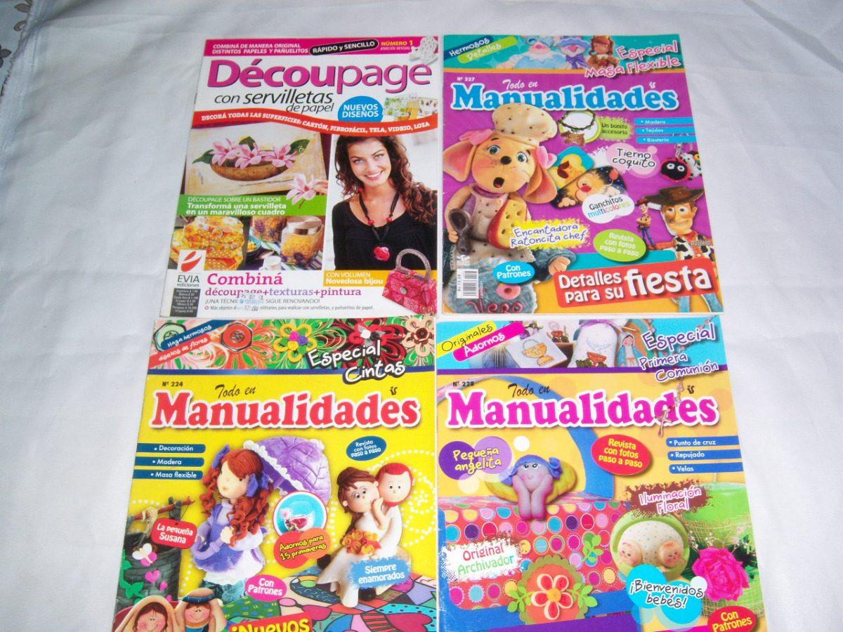 Revistas Manualidades Foami Tortas Madera Masa Flexible - Bs ...