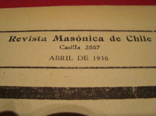 revistas masonicas, 1936 (2)