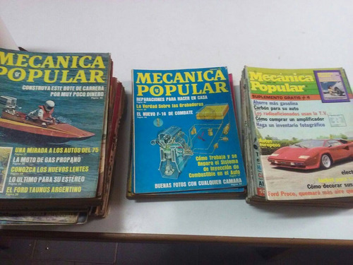 revistas mecánica popular