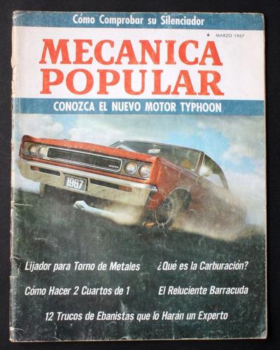 revistas mecánica popular - año 1967