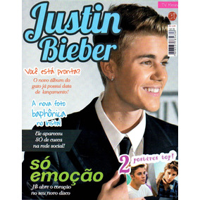 561081f9e Revista Poster Justin Bieber Capricho no Mercado Livre Brasil