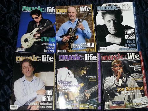 revistas music:life varios envío incluido