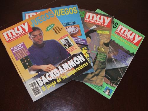 revistas muy interesante juegos números 9, 11 y 14