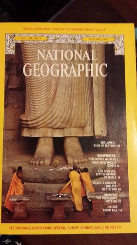 revistas national geographic - en inglés
