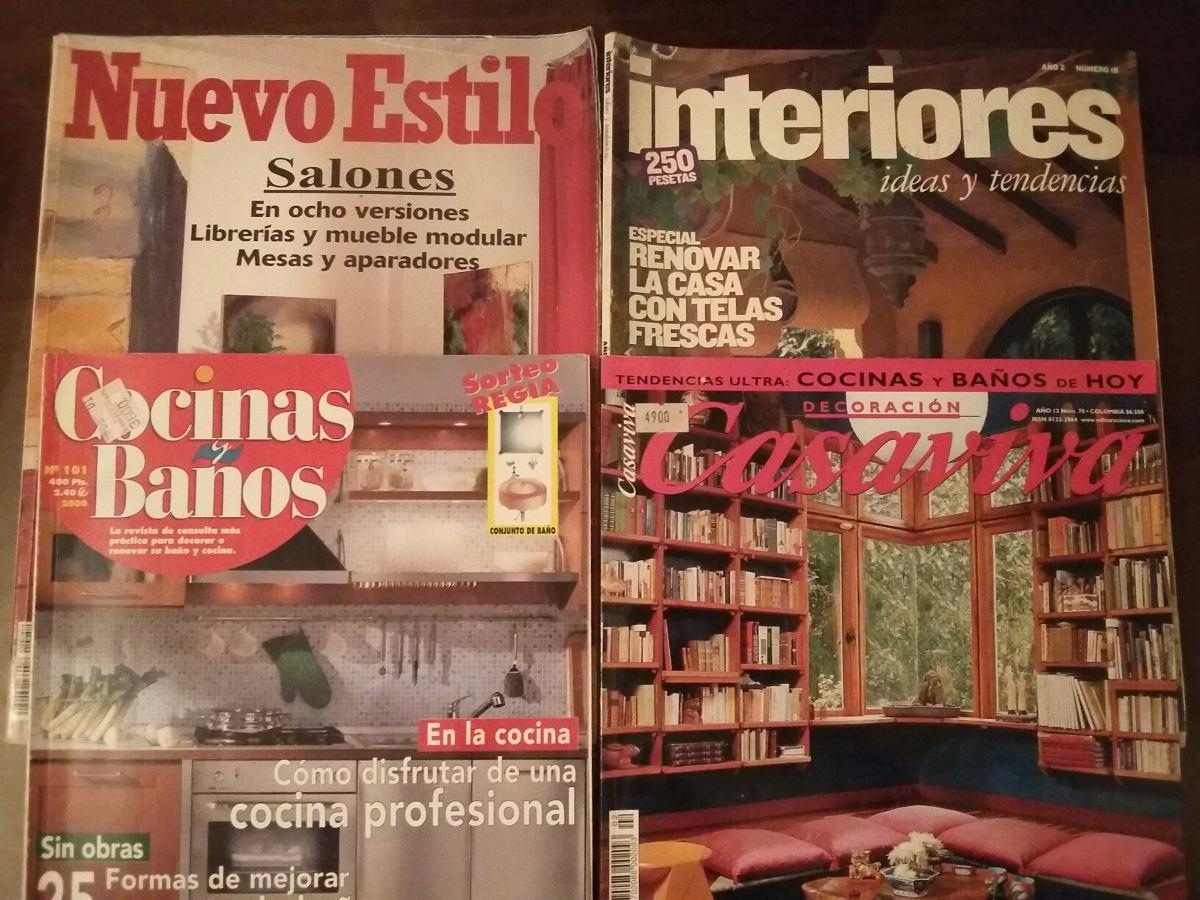 Revistas Nuevo Estilo-interior-cocinas Y Baños-casa Viva. 4 - Bs ...