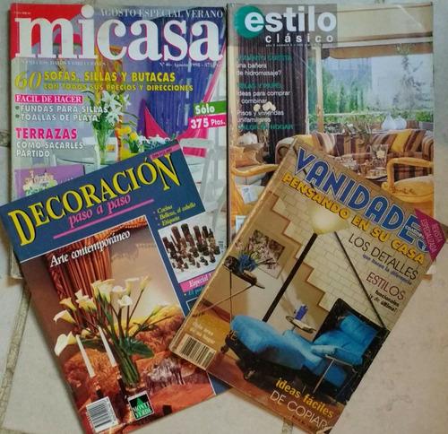 revistas ofert de diseño, hogar, coleccion y entretenimiento