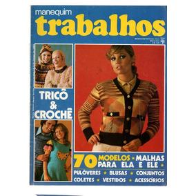 77fd500e9 Revista Manequim Trabalhos Ano 1974 E 76 Duas Revistas