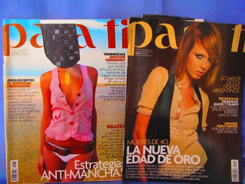 revistas para ti hay 6 nros 4418, 4466, 4479, 4460, 4382 etc