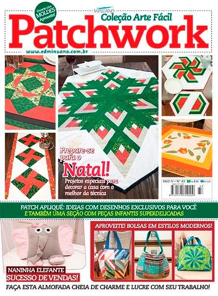 Revistas Patchwork Natal Decoracao Papai Noel Com Moldes R 9 49