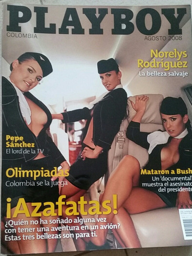revistas playboy colombia del 2008